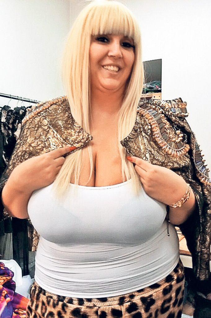 Raluca Bădulescu pe vremea când avea 120 de kilograme