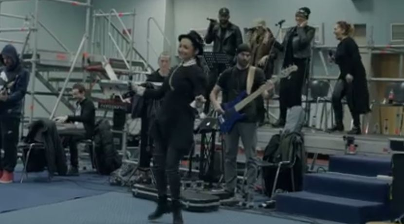 Ce face Andra în culisele pregătirilor pentru concertele de la Sala Palatului. Imagini în premieră   VIDEO