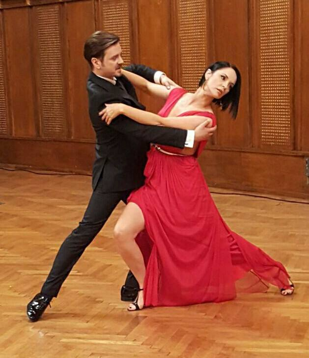 Andreea Marin, alături de Mihai Petre