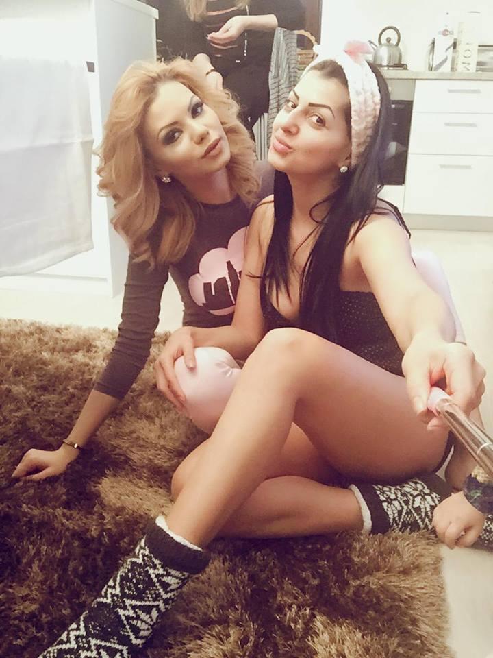 Beyonce de România s-a distrat cu fetele de Lăsata Secului. Petrecere în pijamale