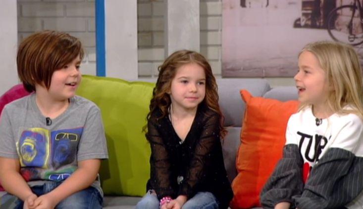 Cei 3 copii ai lui Dragoș Moștenescu: Luca și gemenele Elena și Ana