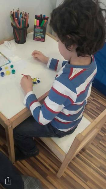 Mărțișoare făcute de copii
