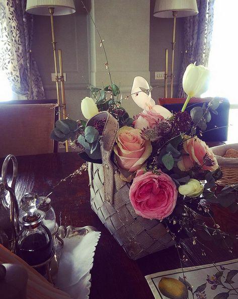 Mădălina Ghenea a primit lalele, florile ei preferate