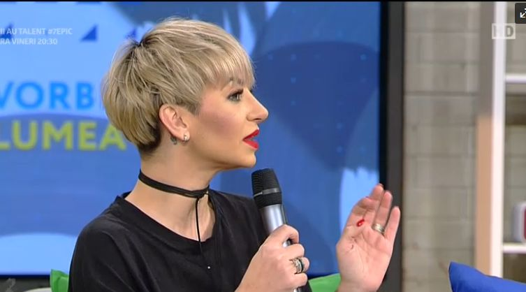 Giulia Anghelescu, după ce și-a operat nasul