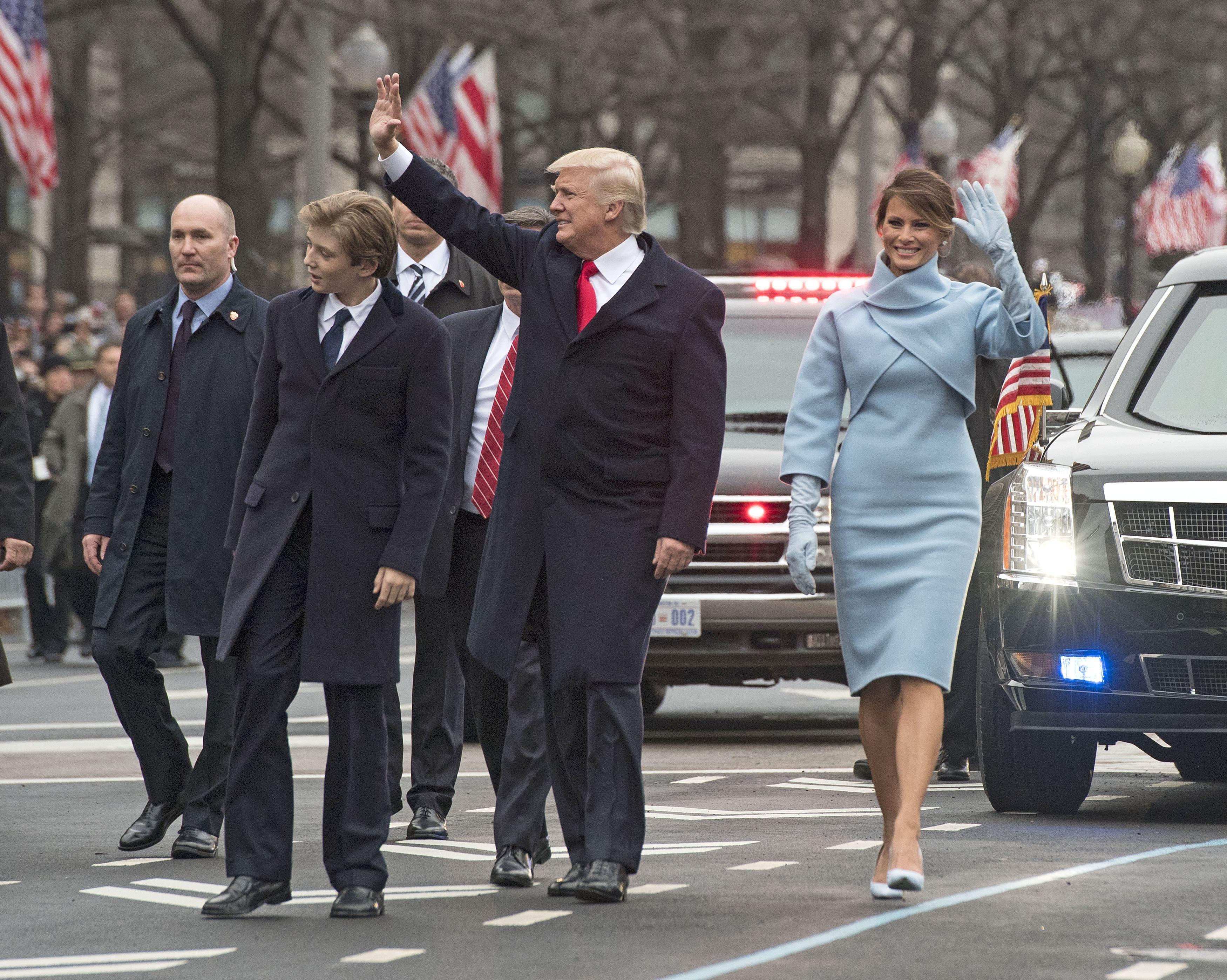 President Trump Inaugural Parade