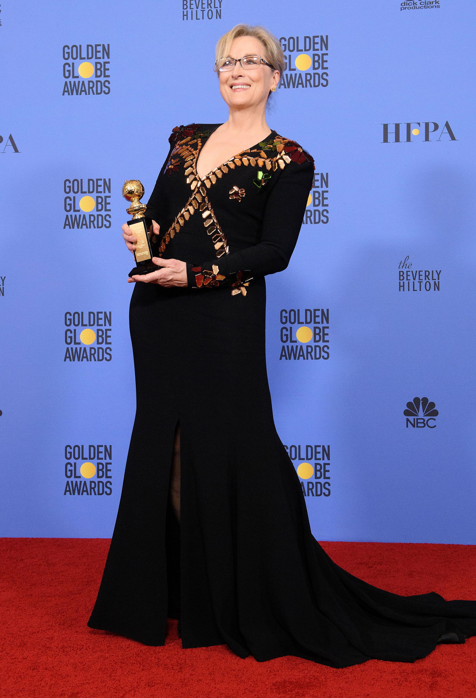 Meryl Streep a primit nouă Globuri de Aur