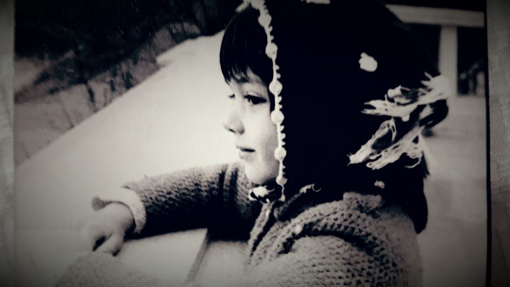Oana Sîrbu, în copilărie