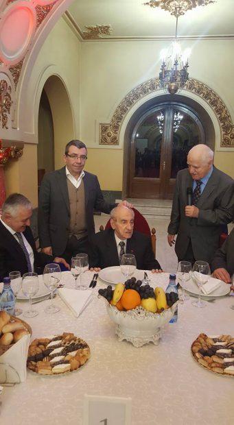 Mircea Ionescu Quintus, sărbătorit de partid, la 100 de ani: Fostul lider Vasile Blaga, printre invitați