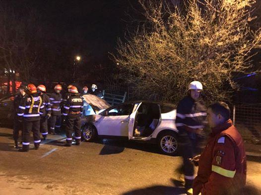 Mașina fostei iubite a lui Daniel Onoriu a fost incendiată. Acuzații grave la adresa pilotului de raliuri.