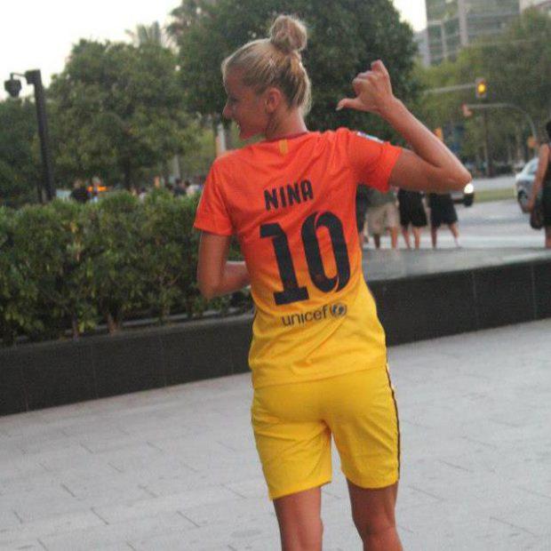 Ce fotbalistă avem! Nina Anca face perfect stop pe piept! Și nu doar atât!