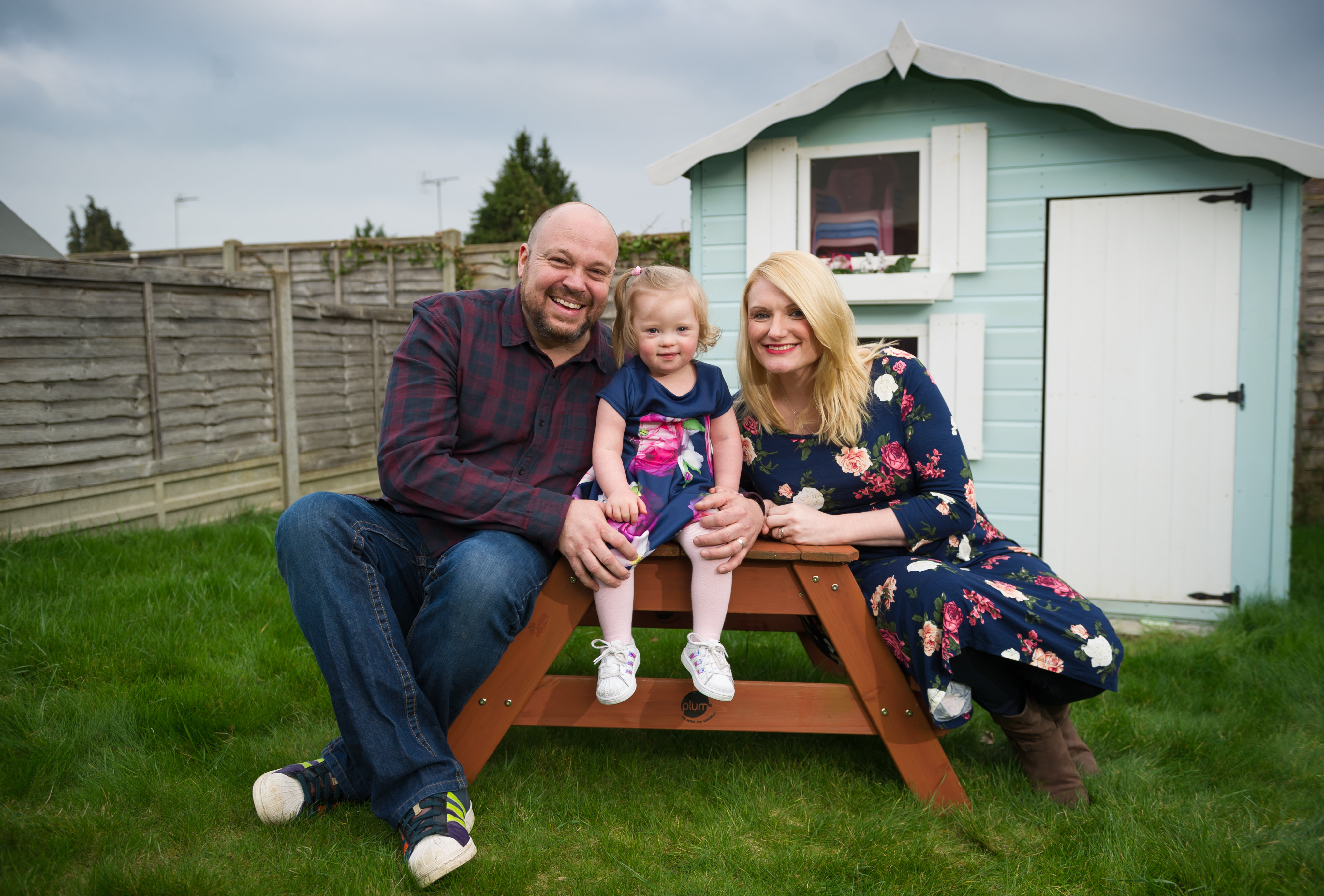O fetiță cu sindromul Down a devenit fotomodel la vârsta de doi ani