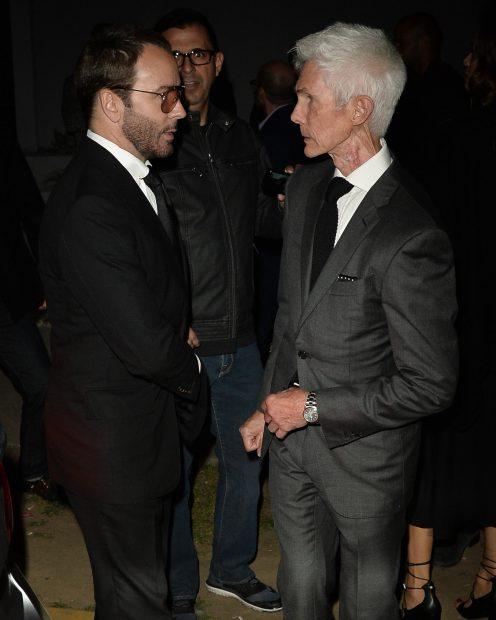 Tom Ford și Richard Buckley au participat la gala organizată de Elton John