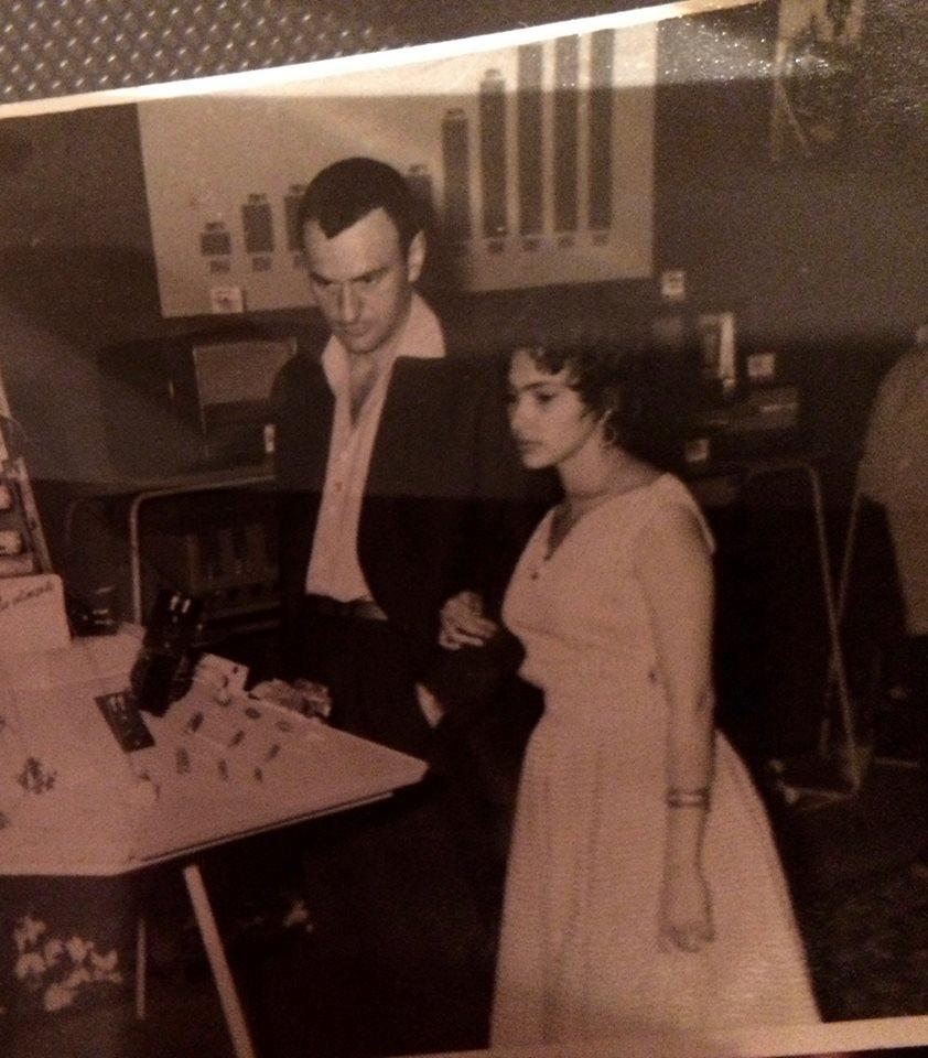 Cum arăta Amza Pellea în tinerețe. Imagine de colecție făcută publică de fiica sa