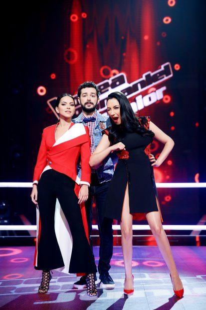 Andra, Moga și INNA au luptat cu toate armele pentru cele mai bune voci din primul sezon al show-ului Vocea României Junior
