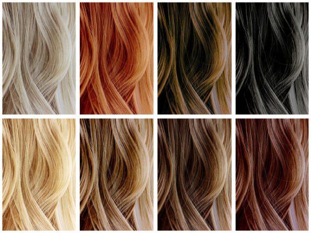 Culori de par nuante