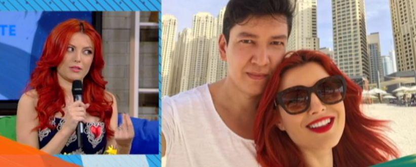 Elena Gheorghe dă din casă. Ce i-a pregătit soțul de Mărțișor