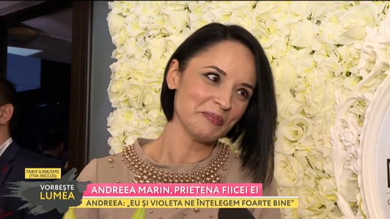 Andreea Marin face dezvăluiri despre fica ei. Ce spune despre Violeta