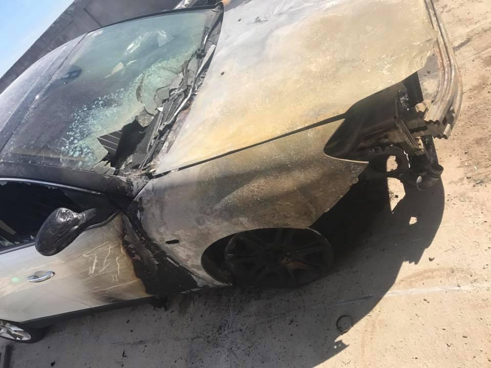 """UPDATE: Mașina fostei iubite a lui Daniel Onoriu a fost incendiată. Acuzații grave la adresa pilotului de raliuri. """"Mă amenința de câteva zile"""""""