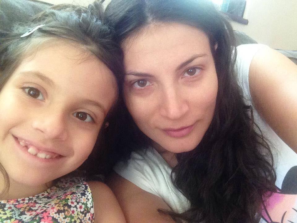 VIDEO EXCUSIV. Ioana Ginghină e cu ochii pe fiica sa! N-o vrea actriță!