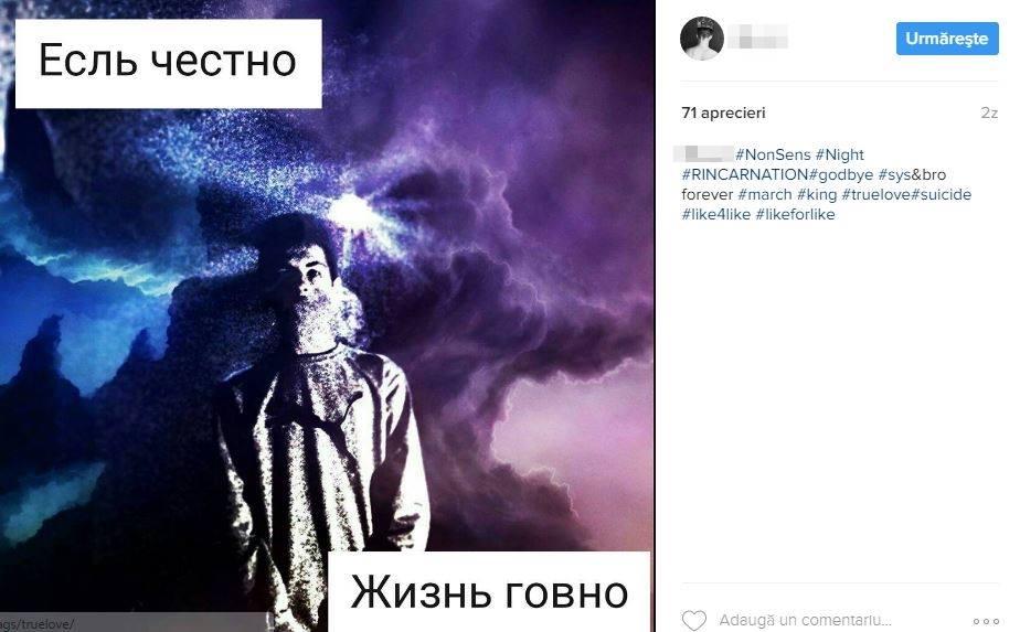"""Doi adolescenți s-au aruncat de pe o clădire cu 17 etaje din Chișinău. Ar fi practicat jocul """"Balena Albastră"""""""