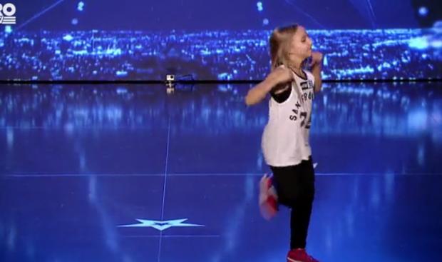 Concurenta în vârstă de 11 ani care i-a ținut pe jurați cu sufletul la gură. Ce a făcut cu corpul ei