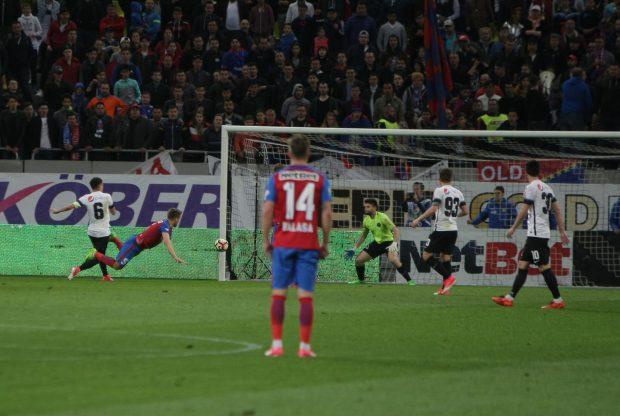 Liga 1, play-off, etapa a 7-a: FCSB – Viitorul 1-1. A marcat Pintilii, e egalat Țucudean. Gazdele, două penalty-uri neacordate și două bare! / FOTO&VIDEO