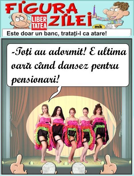 Imagini pentru dans pensionari caricatură