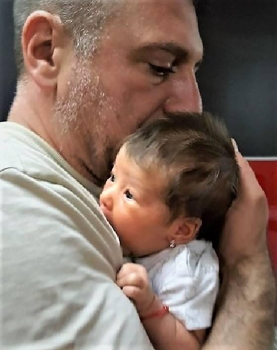 """Christian Sabbagh, în cea mai emoționantă ipostază alături de fiica lui. """"Îți este și teamă"""""""