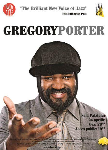 Gregory Porter, unul dintre cei mai buni artiști de jazz, concertează luni la Sala Palatului