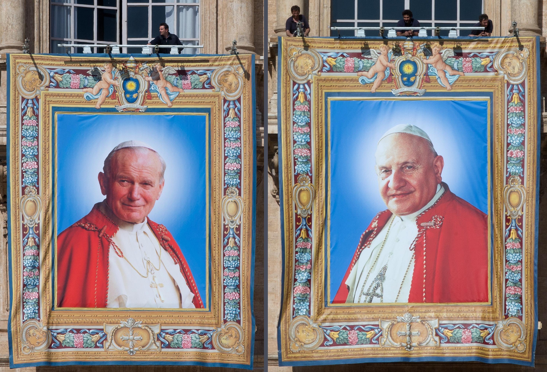 27 aprilie  - Ziua celor patru Papi. Zi istorică pentru Biserica Catolică