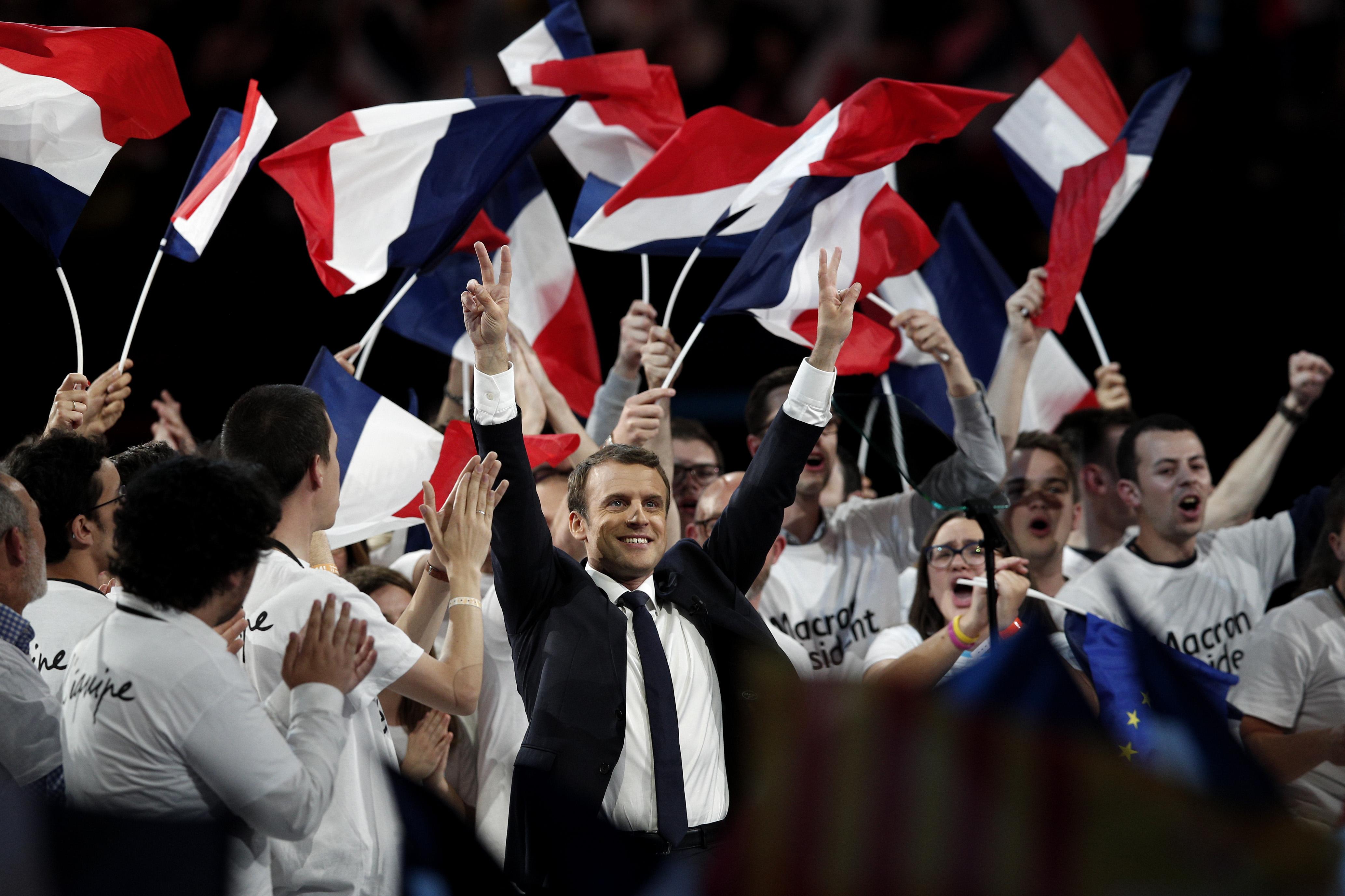 Portret | Emmanuel Macron, președinte al Franței