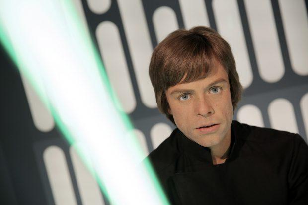 Luck Skywalker si sabia sa cu laser