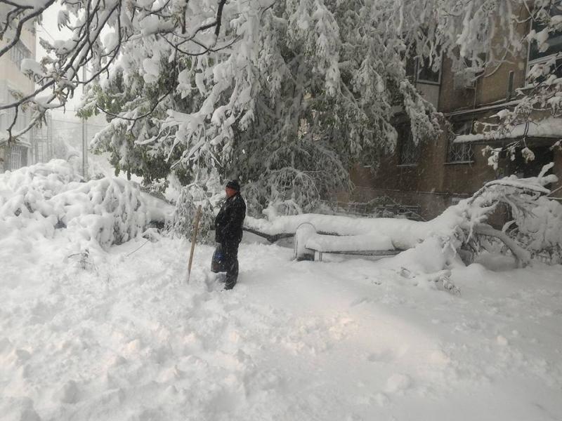 Republica Moldova, paralizată de ninsori. Președintele a decretat stare de urgență. Un bărbat a murit în Chișinău, în urma viscolului