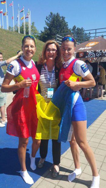Campionatele Europene de canotaj din Cehia: trei medalii de aur și un argint. Campionii se întorc luni, la 14.35, în țară | FOTO&VIDEO
