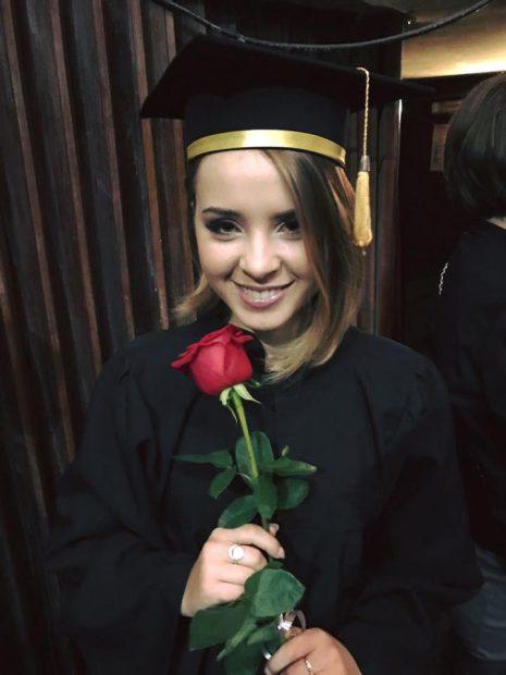 Ilinca Băcilă, reprezentanta României la Eurovision, a absolvit liceul.