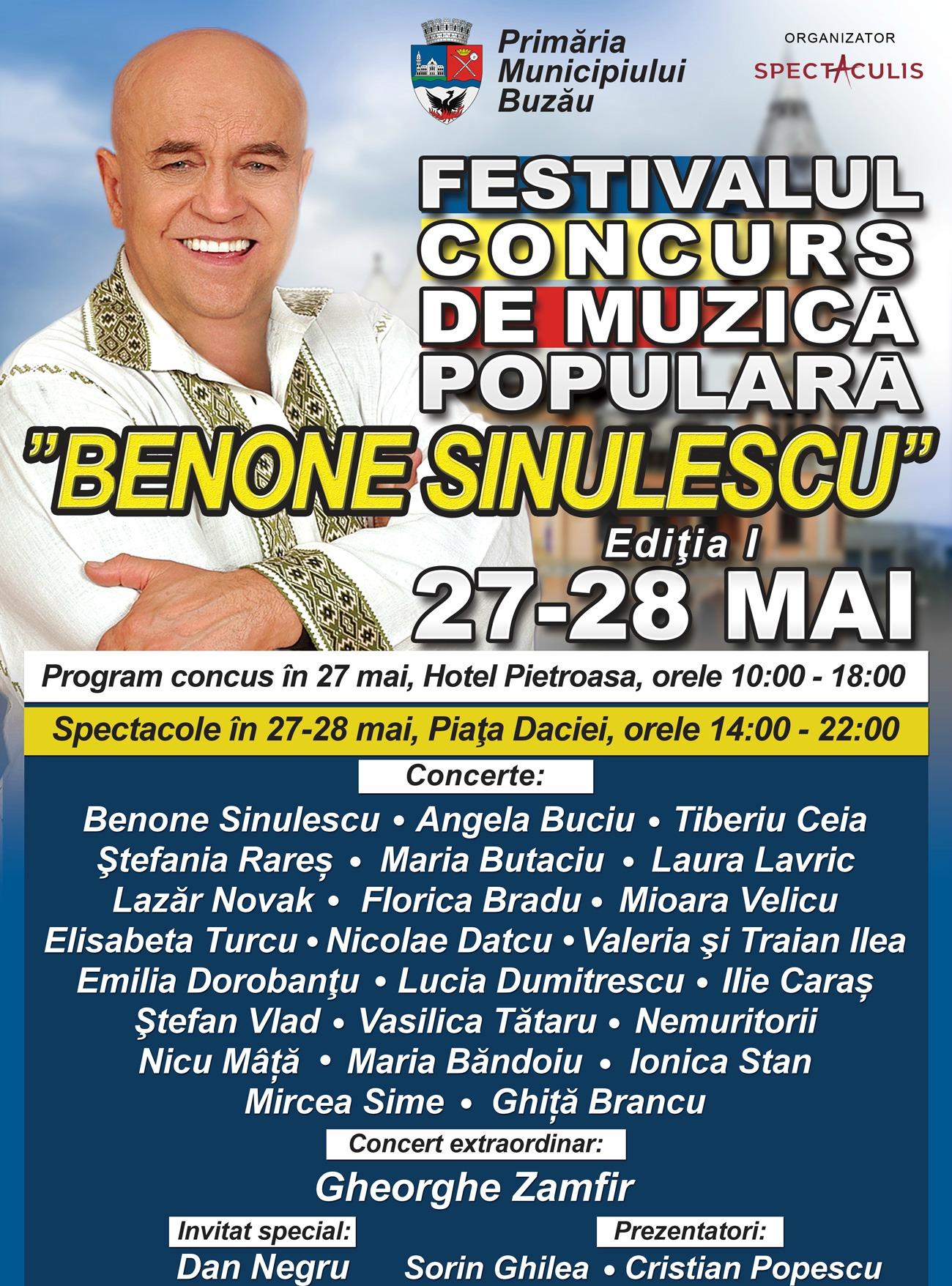 VIDEO/ Benone Sinulescu împlinește 80 de ani. Cel mai valoros solist de muzică populară în viață, sărbătorit cu un festival în orașul natal