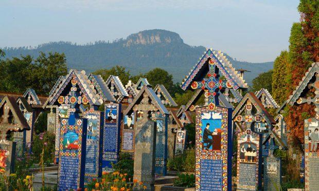 Cimititul Vesel din Săpânța | FOTO: TurismMaramures.ro