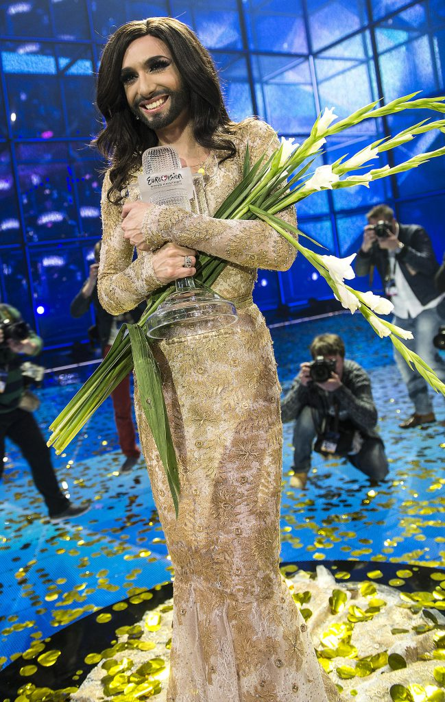 look-uri memorabile la Eurovision - Conchita Wurst