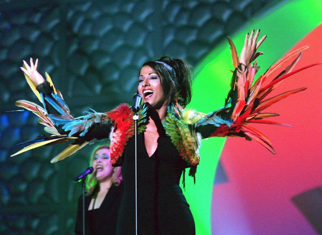 look-uri memorabile la Eurovision - Dana International