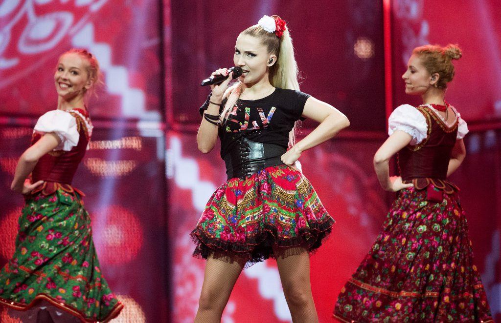 look-uri memorabile la Eurovision - Donatan si Cleo