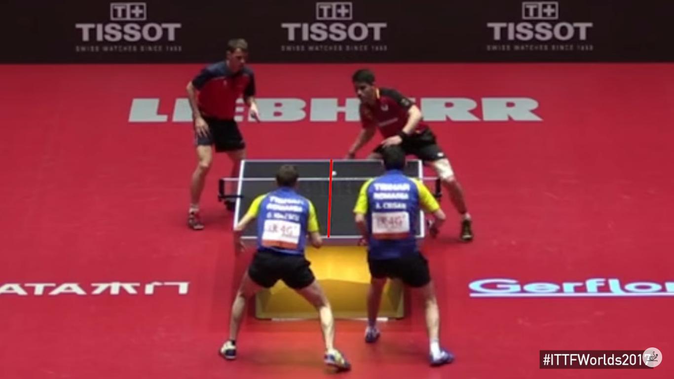 Românii sunt eroii zilei la Mondialele de tenis de masă. Gest superb de fair-play făcut de Ovidiu Ionescu și Adrian Crișan / VIDEO