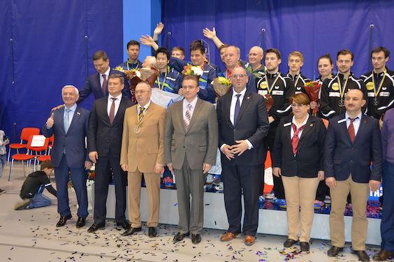 Jucătorul de tenis de masă Adrian Crișan a cucerit Cupa ETTU cu formația franceză La Romagne / GALERIE FOTO