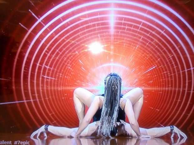 Grupul Free Balance, show incendiar pe scena Românii au talent, în a patra semifinală