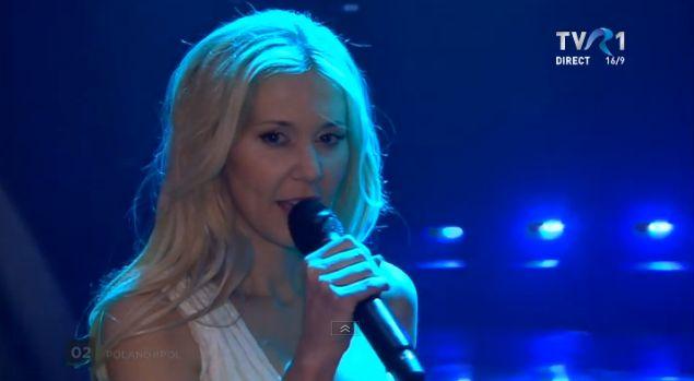 Kasia Mos, din Polonia, în finala Eurovision 2017
