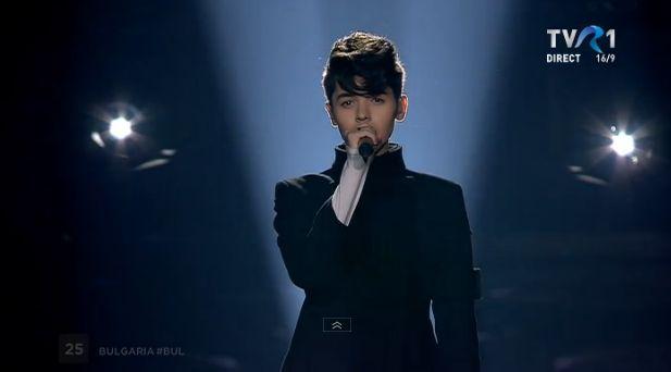 Kristian Kostov, din Bulgaria, in finala Eurovision 2017