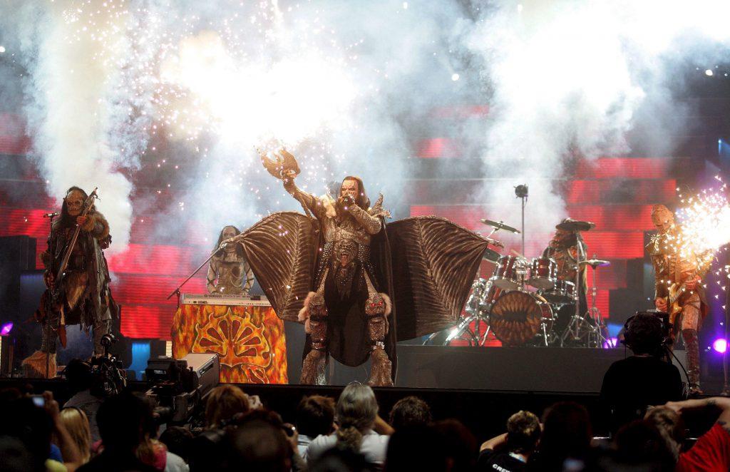 look-uri memorabile la Eurovision - Lordi