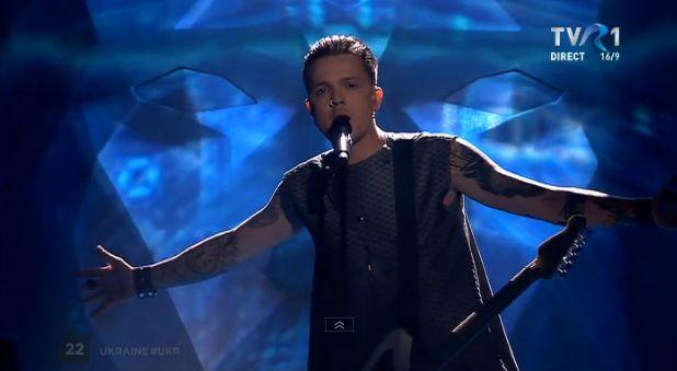 O.Torvald, din Ucraina, in finala Eurovision 2017