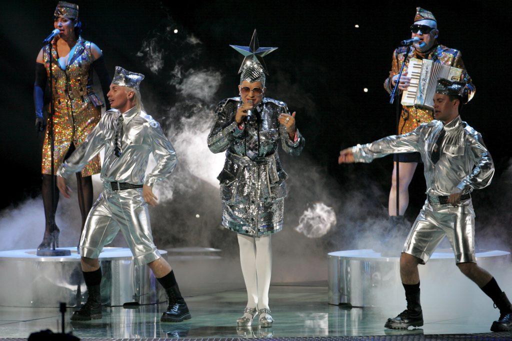 look-uri memorabile la Eurovision - Verka