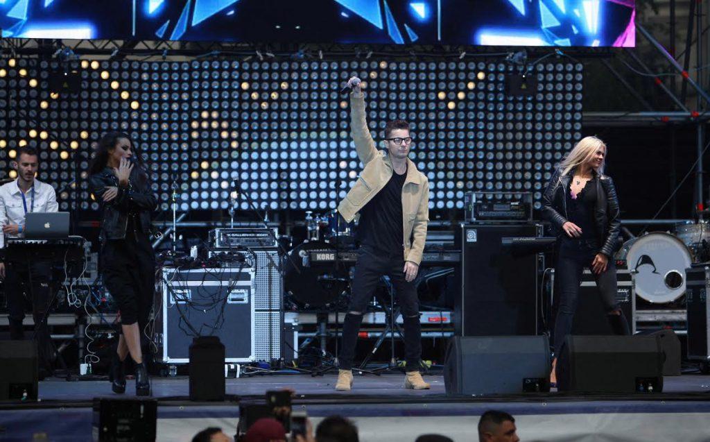 Ce s-a întâmplat cu partenera de dans a lui Alex Velea la o zi după finala Uite cine dansează. Unde și-a făcut apariția sexy-blonda | FOTO EXCLUSIV