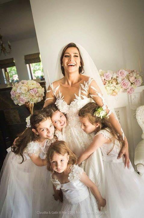 Claudia Pătrășcanu aniversează un an de la nuntă. A făcut publice cele mai frumoase imagini de la eveniment | FOTO